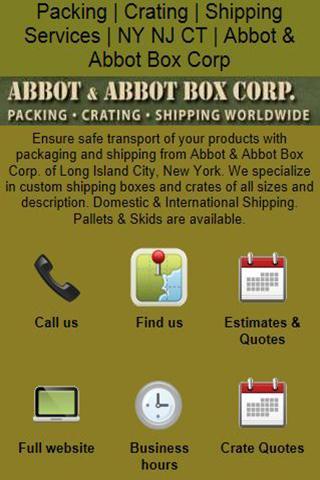 【免費商業App】Abbot Box Company-APP點子