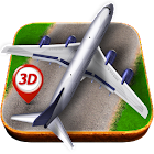 Aeroplane Parking 3D icon
