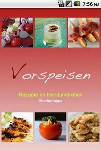 iKochen Vorspeisen- screenshot thumbnail