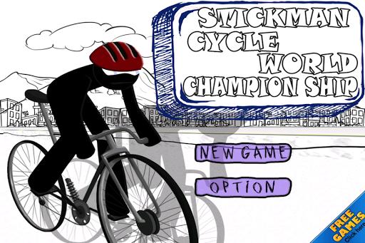 Stickman Cycle World Champions