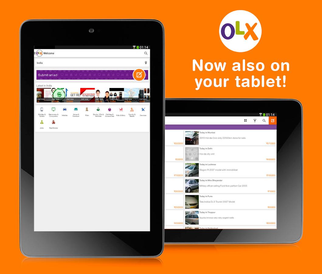 Olx Mobile – Gym Kits