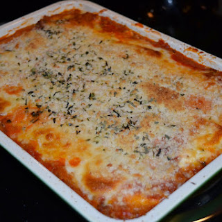 """Baked """"Pasta"""" With A Super-Healthy Swap!"""