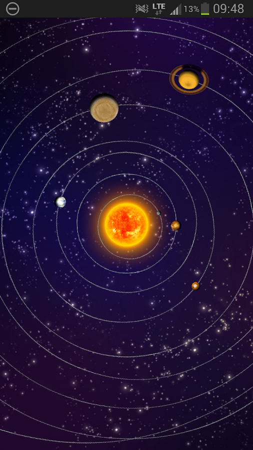 Solar System Trial - Android Apps on Google Play