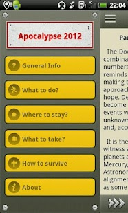 The Doomsday - how to survive?- screenshot thumbnail
