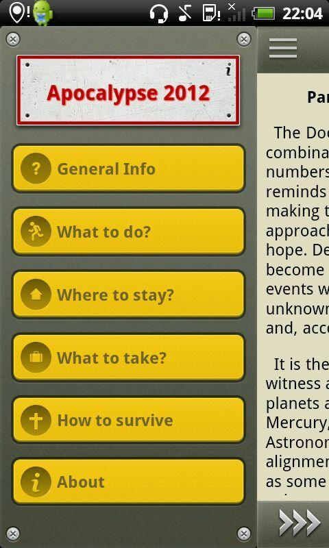 The Doomsday - how to survive?- screenshot
