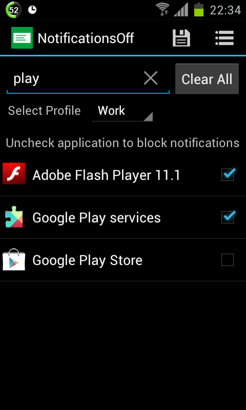Notifications Off [Root]- screenshot