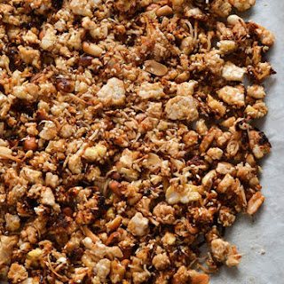 Coconut Rice Cake Granola