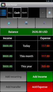 Money Manager - screenshot thumbnail