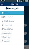 Screenshot of Aeromexico Mobile
