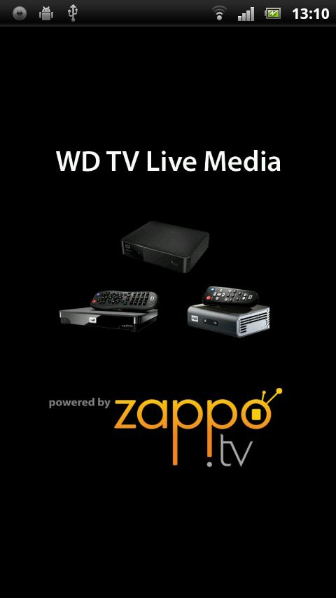 WD TV Live Media Player - screenshot