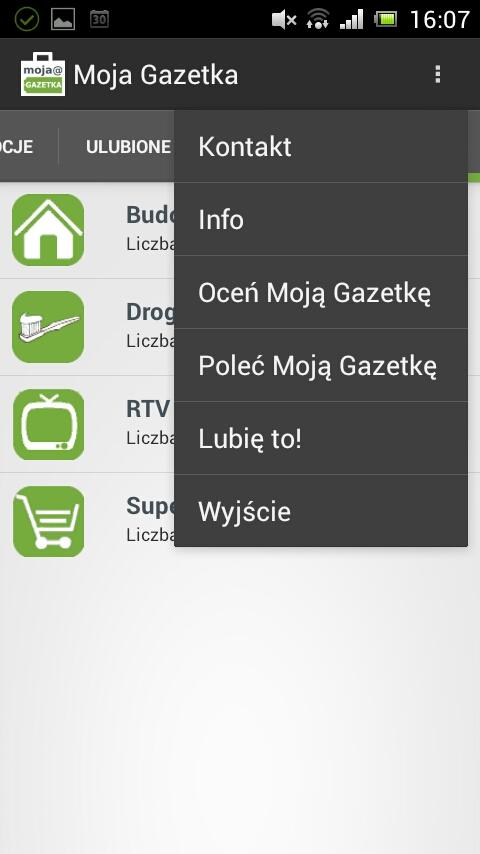 Moja Gazetka - screenshot