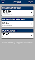 Screenshot of St. Charles Bank and Trust