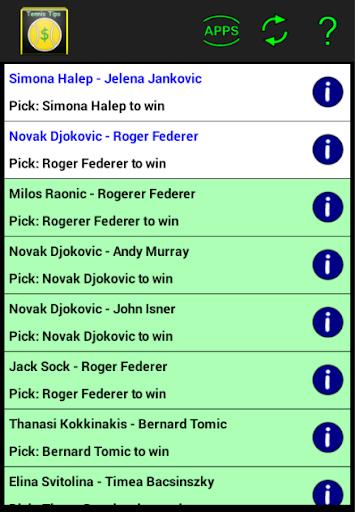 Tennis Tips - betting picks