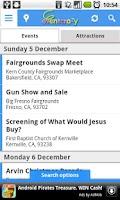 Screenshot of EventCrazy