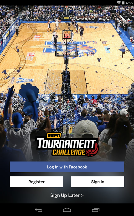 ESPN Tournament Challenge - screenshot