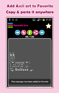 App Free 1 6 Ascii Ar Amp Emoticons Great Store Of Coolest Ascii Art And Emoticons