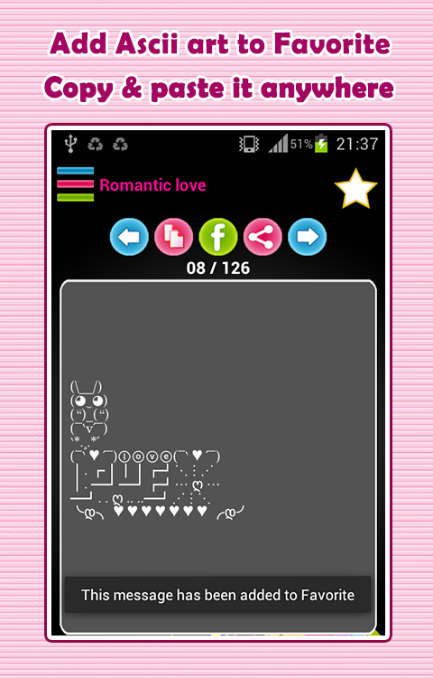 One Line Ascii Art Music : Ascii art emoticons android apps on google play