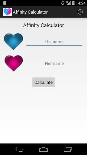 Affinity Calculator