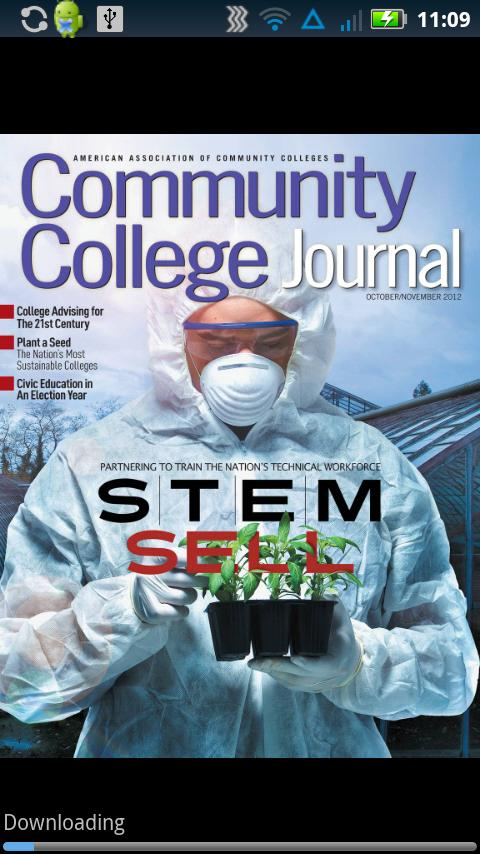 Community College Journal - screenshot