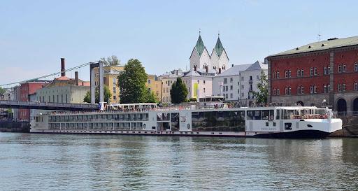 Viking-Embla-Passau-Germany - Viking Embla at Passau, Germany.