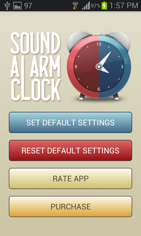 Sound Alarm Clock Lite - screenshot