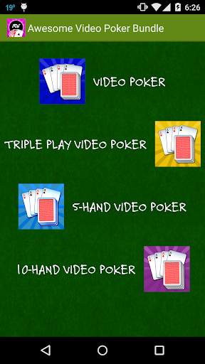 Awesome Video Poker Bundle