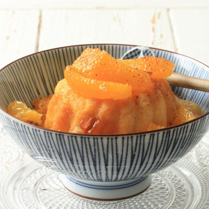 Orange Babas (Easter Cakes)