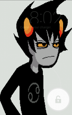 Karkat Vantas Live Wallpaper - screenshot