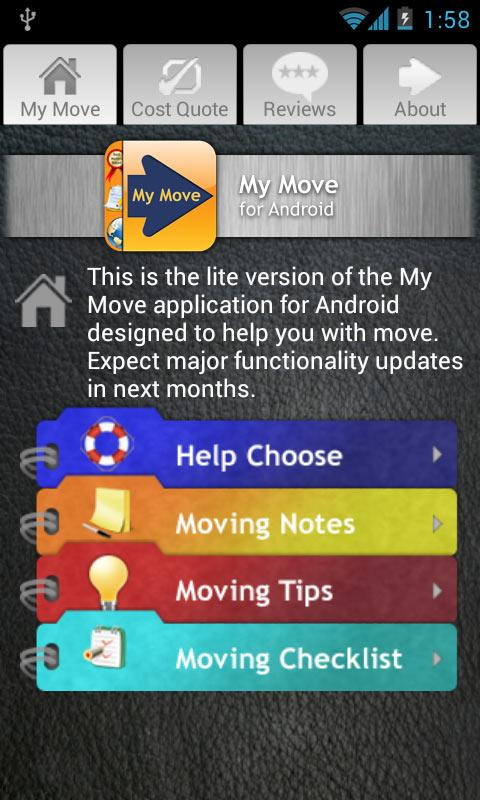 My Move - screenshot