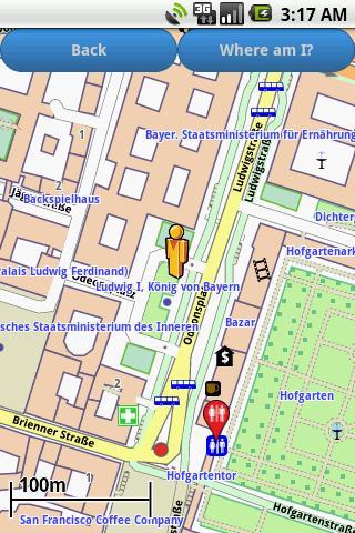 Munich Amenities Map