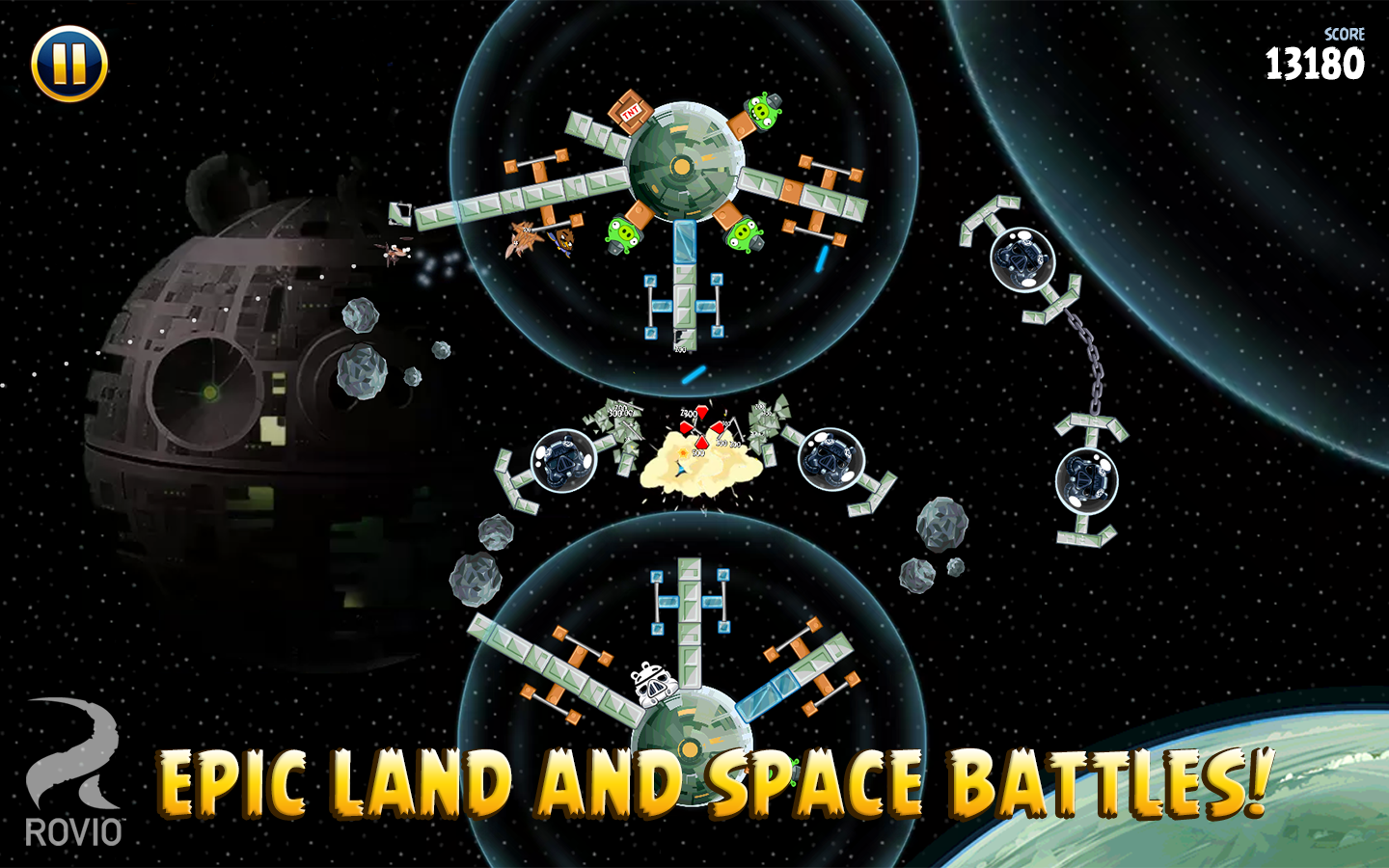 Angry Birds Star Wars- screenshot