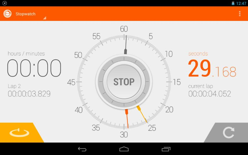 Stopwatch Timer- screenshot