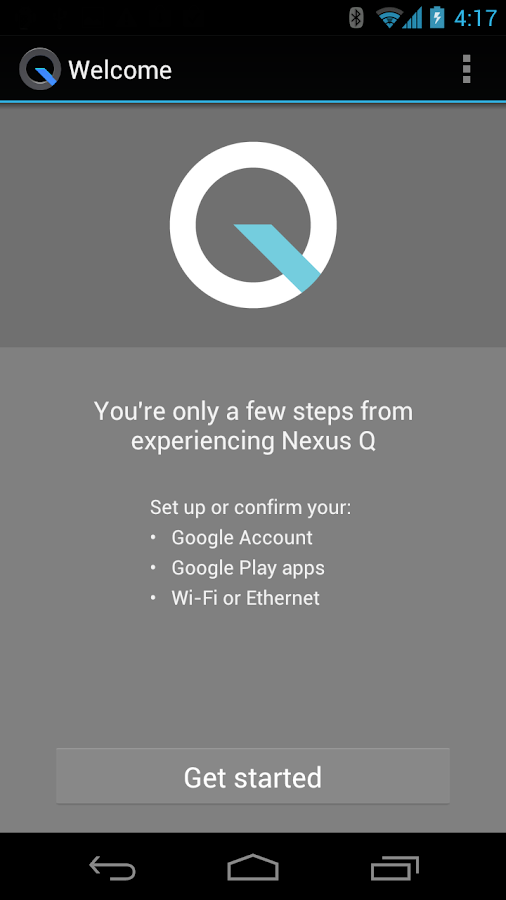 Nexus Q - screenshot