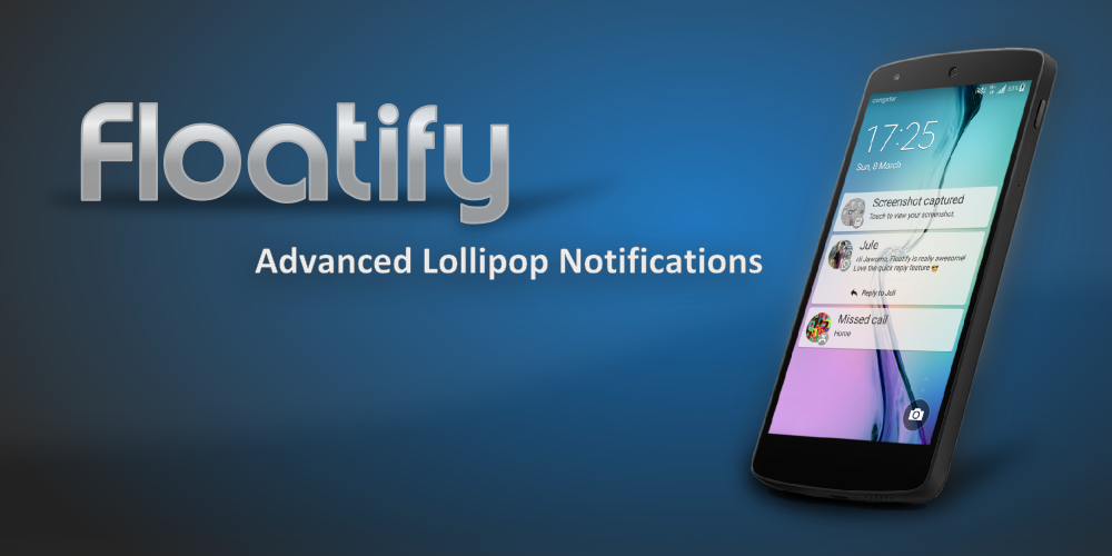 Floatify Notifications ProKey - screenshot