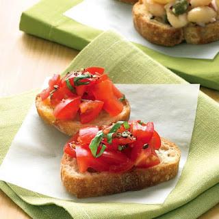 Tomato-Basil Crostini