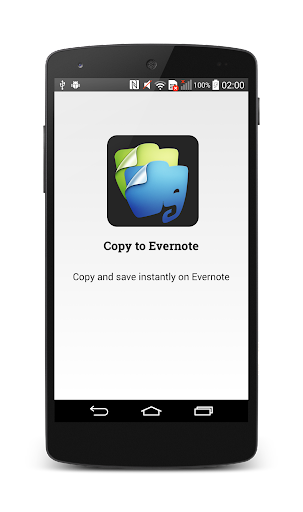 Copy to Evernote