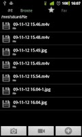 Screenshot of Camera Folders