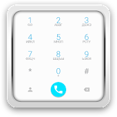 exDialer Androd L theme