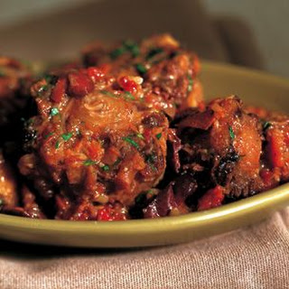 Braised Oxtails with Olives