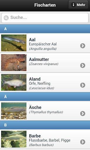 Fischbestimmung FishFinder 3.0