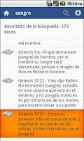 Screenshot of Biblia Sagrada Reina Valera