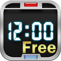 Digital Clock Wallpaper Free icon