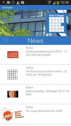 Erlangen - Die offizielle App