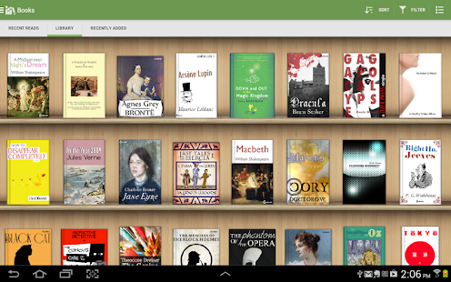 Aldiko Book Reader- screenshot thumbnail