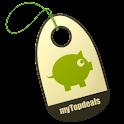 myTopdeals – Schnäppchen App logo
