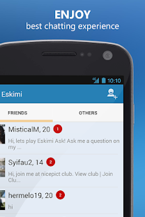 Meet People Chat Flirt: Eskimi - screenshot thumbnail