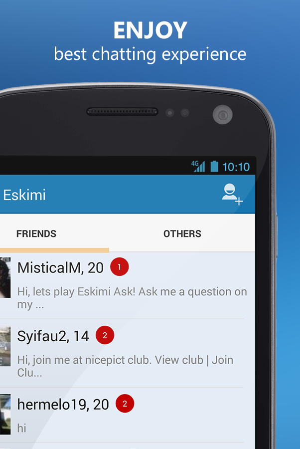 Meet People Chat Flirt: Eskimi - screenshot