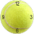 Tennis Ball Clock Widget 2x2