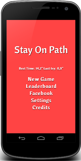 Stay on path - Stay in Line