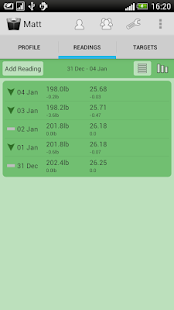Weight Loss Tracker - screenshot thumbnail